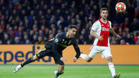 Image result for images of  cr7 goal ajax