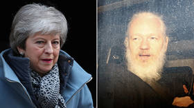 UK Prime Minister Theresa May 'welcomes' news of Assange's arrest