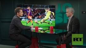 Jose Mourinho on UCL QF action, Barcelona v Man Utd & Messi injury (E3)