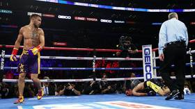 'He's not human!' Vasyl Lomachenko scythes through heavy underdog Anthony Crolla in LA