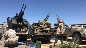 Libyan National Army jet shot down over Tripoli as Haftar visits Egypt