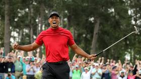 Roaring back: Tiger Woods wins Masters to clinch first major since 2008