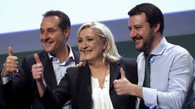 EU centrists set to lose MEP seats to Eurosceptics, Russia again accused of meddling