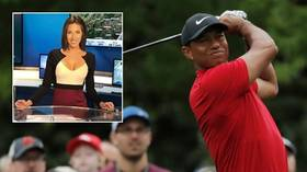 Weather anchor says she got 'death threats' for interrupting Tiger Woods' Masters triumph