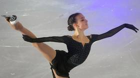 'Moving the limits': Russian skater nails stunning quad-triple combination during training