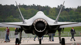 FILE PHOTO: A Lockheed Martin F-35 aircraft. ©REUTERS / Axel Schmidt