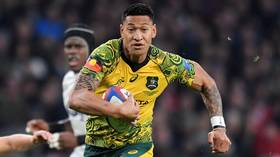 'I live for God now': Israel Folau has contract terminated by Australia after anti-gay comments