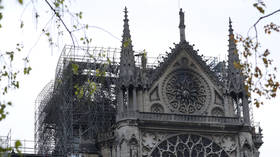 'It's a bit of a miracle': Delight as Notre Dame's iconic rose windows survive blaze (PHOTO)