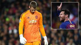 'He's nowhere near the world's best right now': Twitter reacts to De Gea's howler against Barcelona