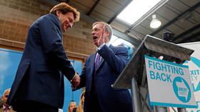 Nigel Farage's Brexit Party set to storm EU elections with shock win, poll finds
