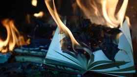 Why stop at burning books, when libraries themselves are 'sites of whiteness,' librarian suggests