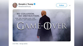 Game Over: Trump tweets after attorney general says Mueller report found 'no collusion' with Russia
