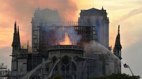 'We all watched with tears in our eyes' as Notre Dame burnt – Putin