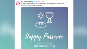 'You had one job': Labour Party derided over Passover tweet fail