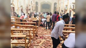 Over 200 killed, hundreds injured in series of blasts at Sri Lankan hotels & churches