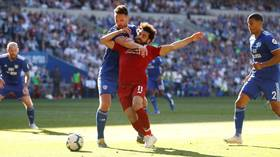 'That was a dive AND a penalty': Mohamed Salah earns spot-kick as Liverpool go top at Cardiff