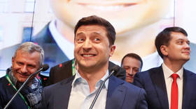 Landslide victory: Early Ukraine election results show Zelensky's near 50-point lead over Poroshenko
