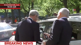 Twitterati pounce on MSNBC for sending reporter to pester Mueller near church on Easter Sunday