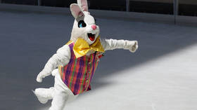 'Beat his ass!' Angry Easter Bunny gets into street fight in Orlando in viral VIDEO