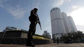 'Controlled explosion' near cinema in Colombo, Sri Lanka as police discover 'suspicious' bike