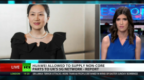 UK shocks US by working with Huawei