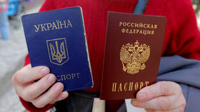 Kiev is fuming over Russia's move on passports for residents of Ukraine's rebel regions