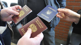 FILE PHOTO: Ukrainians applying for Russian passports © RIA Novosti / Sergey Kuznetsov