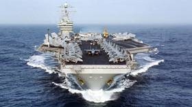 Iranian drone reportedly films close-up shots of US aircraft carrier… and gets away with it (VIDEO)