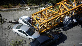 4 people killed as giant crane crashes down on under-construction Google campus, cars (PHOTOS)