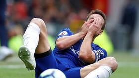 'He just sent Azpilicueta back to Spain': Chelsea captain sent flying after Lukaku shoulder