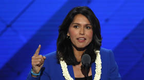 Tulsi Gabbard takes on her own party over 'endless war' in mysteriously-deleted viral campaign clip