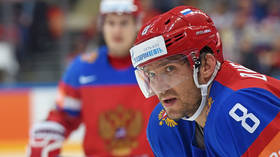 Ovechkin hands Russia boost as he links up with team ahead of World Championships