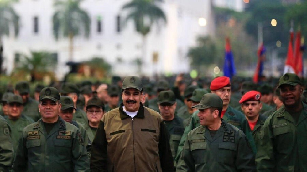 'United as never before': Maduro leads military march, thanks army for loyalty (PHOTOS)