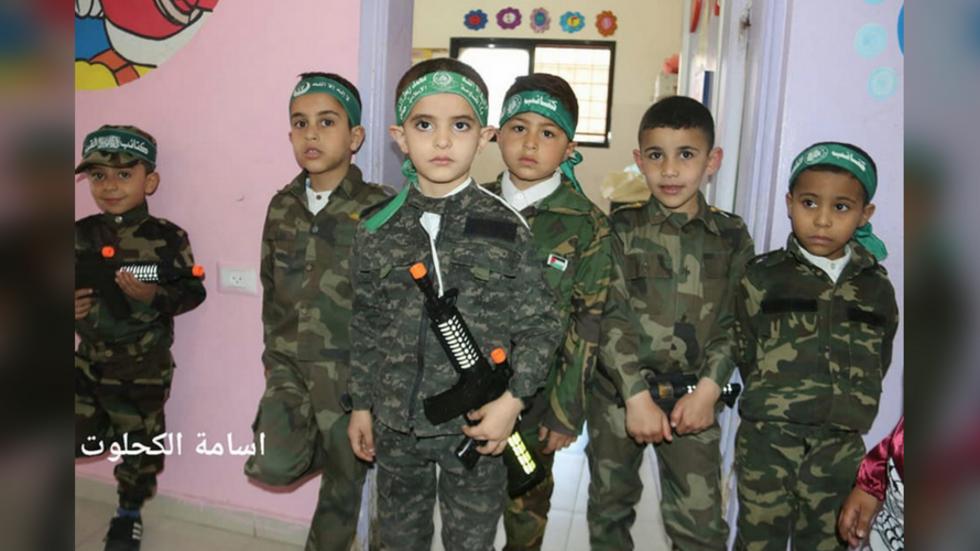 Israeli tweet of 'Hamas children' playing with TOY guns BACKFIRES