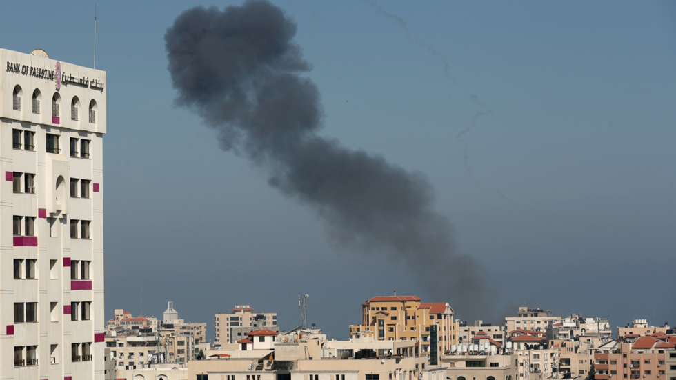 Israel releases VIDEO of airstrikes hitting alleged Hamas targets in Gaza