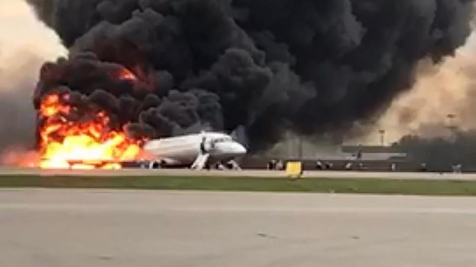 13 people, including 2 children, confirmed dead in Superjet-100 crash-landing in Moscow