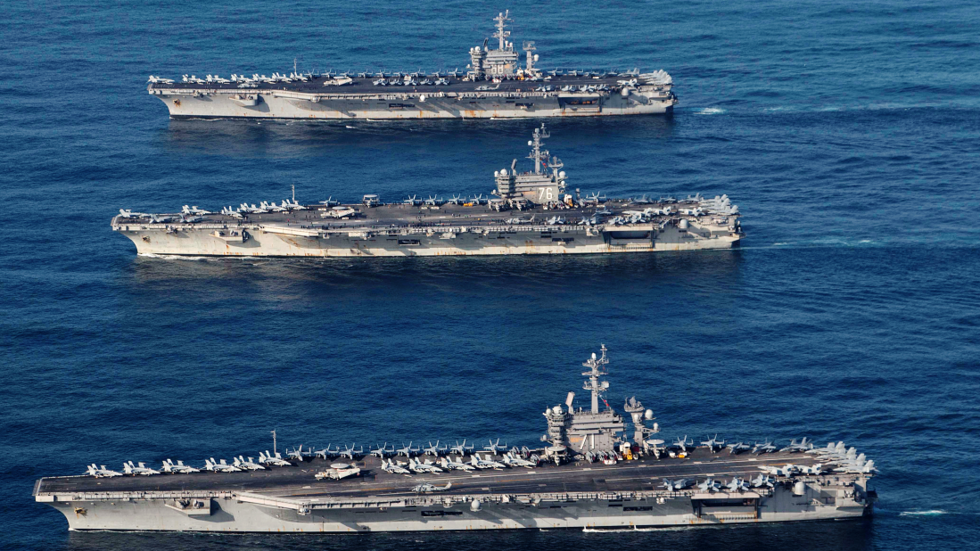 Washington rules the waves? Trump using Navy to supplement US 'diplomacy' across the globe
