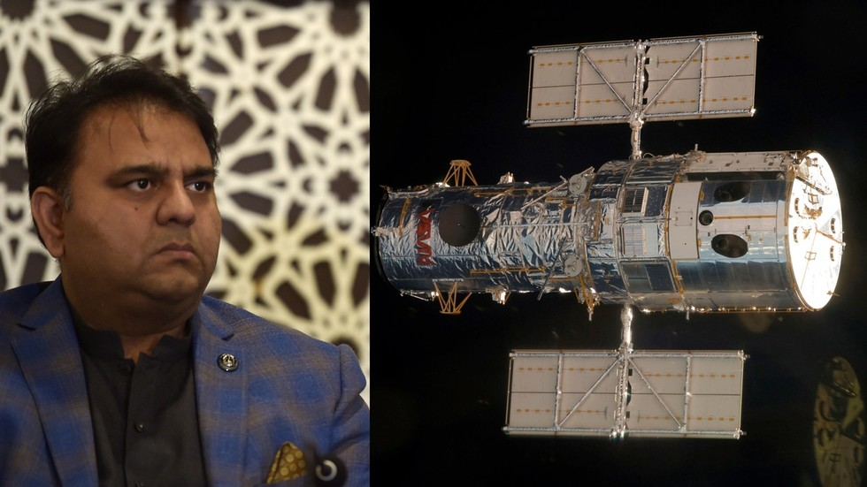 'Send him into space': Science and tech minister mocked for claiming Hubble was launched by Pakistan