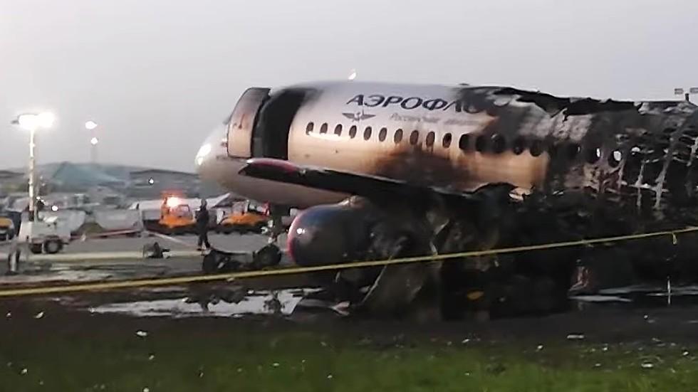 'Plane was burning like PLASTIC CUP': Russian jet crash survivor recalls harrowing escape from fire