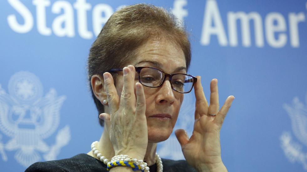 US ambassador to Kiev sacked amid 'meddling' accusations from Ukraine's top prosecutor