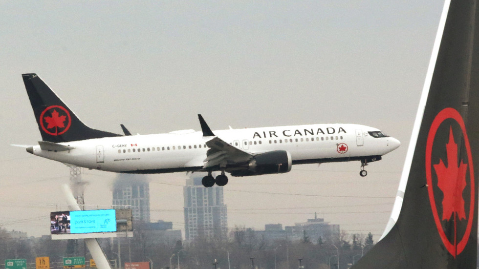 Air Canada Plane Collides With Fuel Truck On Runway, 3