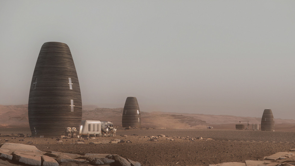 Red planet residence: NASA unveils prize-winning printable pods for housing humans on Mars