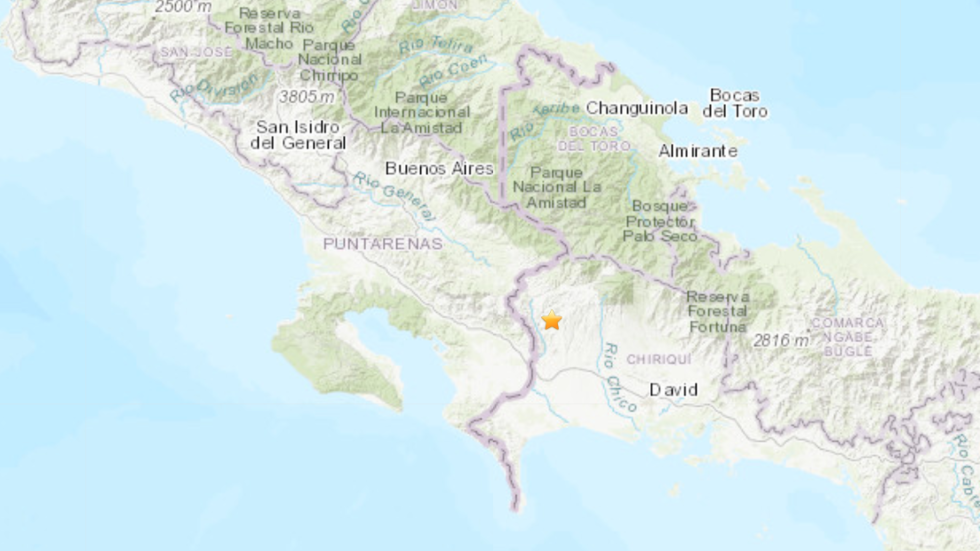 6.1 magnitude earthquake strikes Panama and Costa Rica border region – USGS
