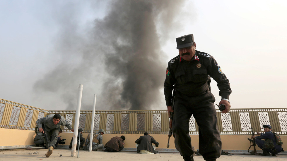 NATO-led airstrike reportedly kills 17 Afghan police officers 'by mistake'