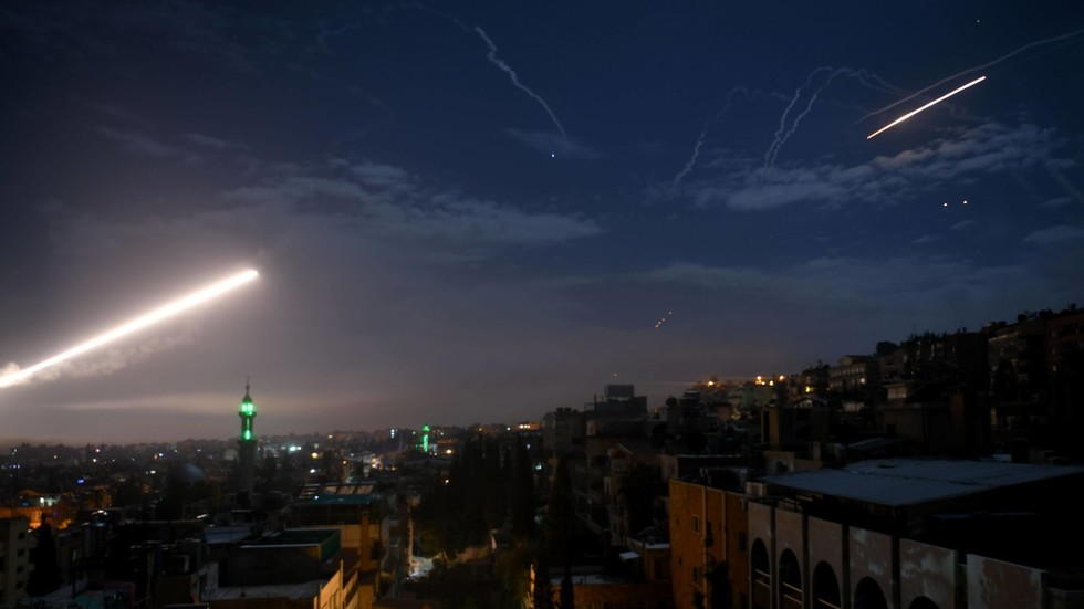 Syrian air defenses bring down projectiles coming from Israeli-controlled territory – reports