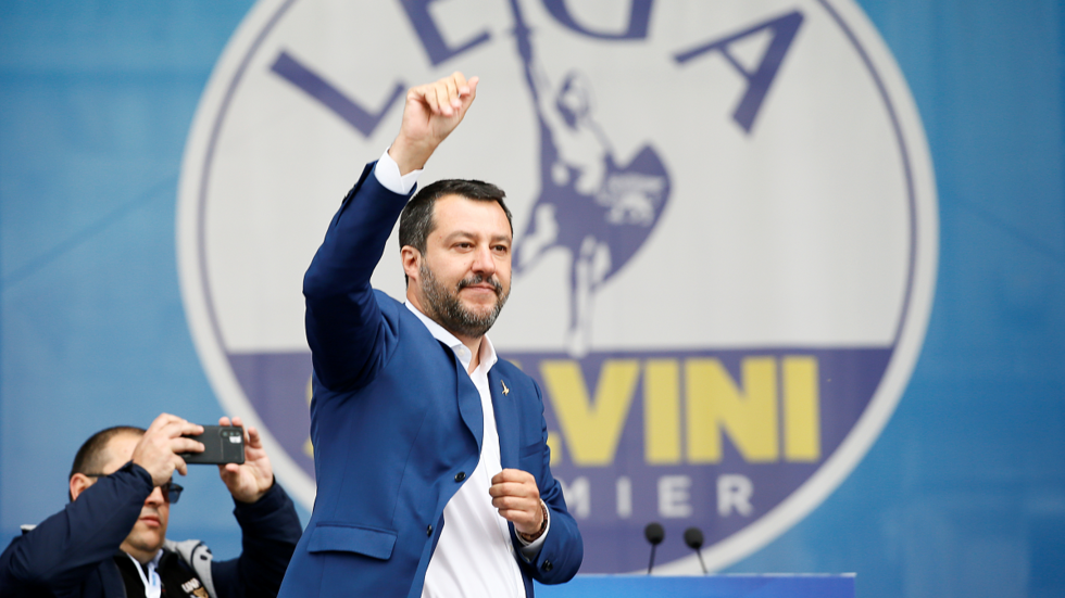 'All decent people' oppose 'damaging' Russia sanctions, Salvini says ahead of EU elections