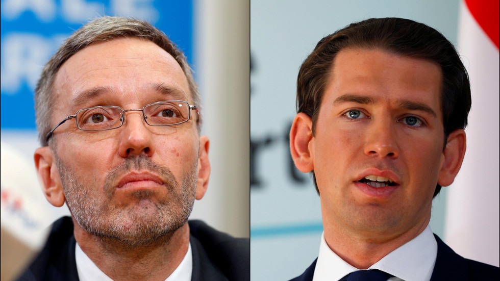 Austria's Kurz proposes sacking interior minister as video scandal spirals