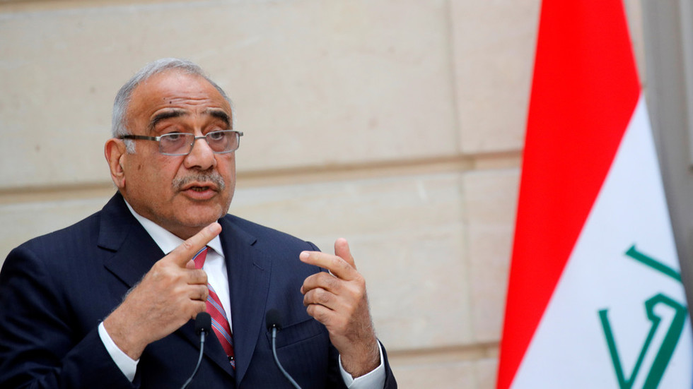 Iraq to send teams to Tehran, Washington to try to calm tensions – PM Abdul Mahdi