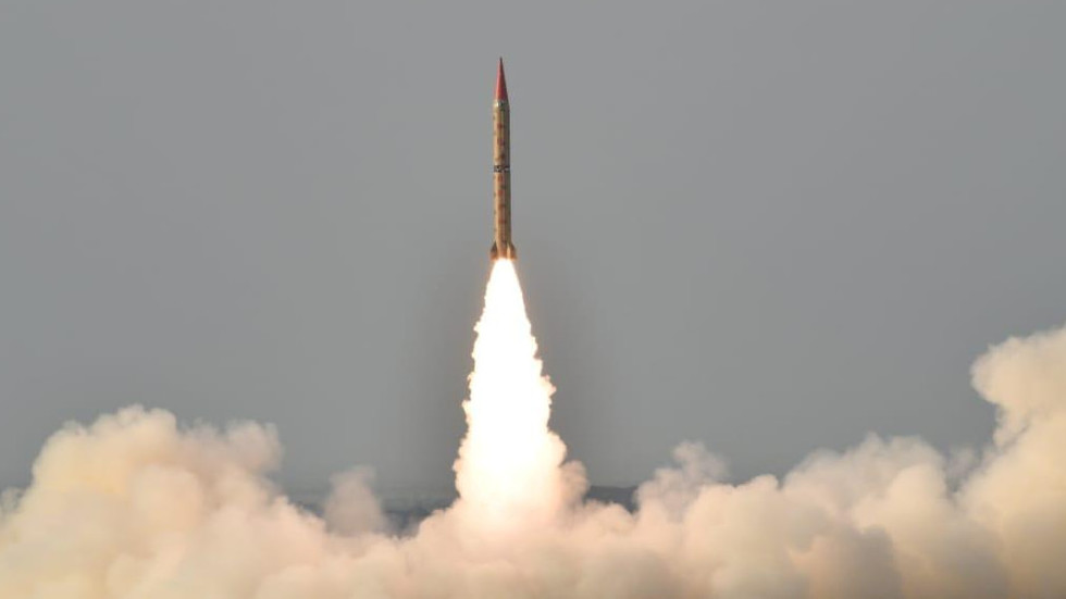 Pakistan tests Shaheen-II ballistic missile as India counts election votes