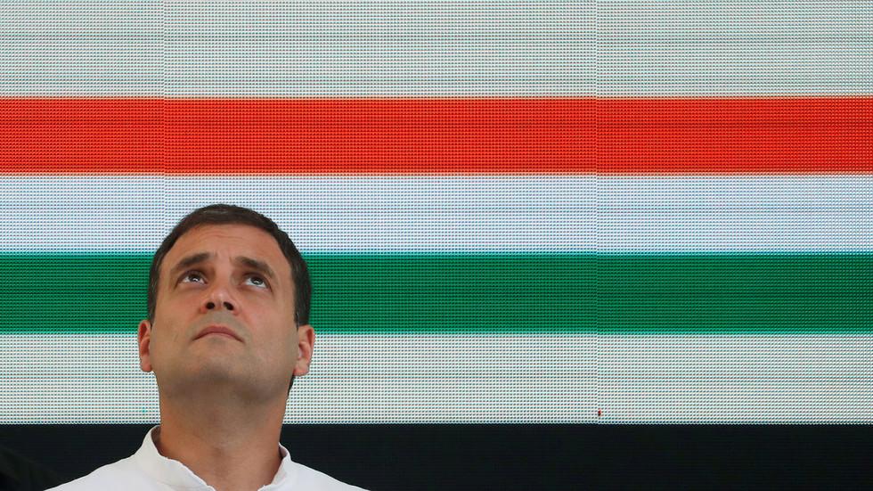 'People gave their verdict': India's opposition leader Gandhi concedes defeat, congratulates Modi